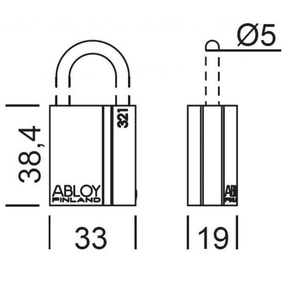 ABLOY - PL321T/20 PROTEC2